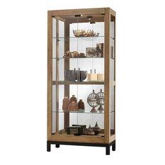 Howard Miller Quinn Display Cabinet, Natural