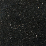 "Emser Tile - Granite Galaxy Black 12""x12"" Granite Floor Tile, Set of 1 - Galaxy Black is a sparkling black granite for a compelling design statement. The natural speckled coloration makes each tile unique. A polished finish heightens elegance and enhances color contrast."