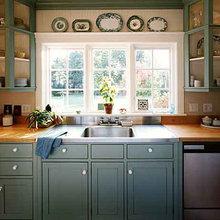 Saltbox Addition Kitchen