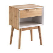 Hijo Wooden Bedside Table
