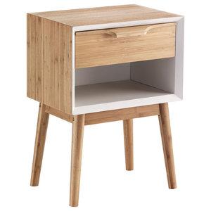 Hijo Wooden Bedside Table