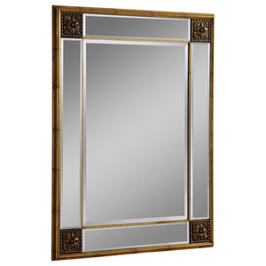 Claire Wall Mirror, Gold, 74x99 cm