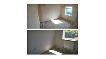 Bare room, new electrics