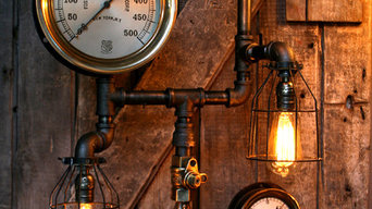 Machine Age Lamps Steampunk Gear Steam Gauge