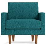 Midcentury Modern Florentine Arm Chair Contemporary