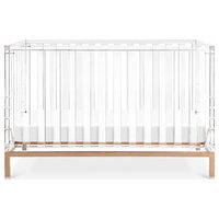 Luma Crib, Acrylic and Rose Gold