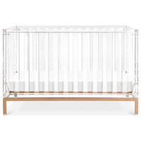 Luma Crib, Acrylic/Rose Gold