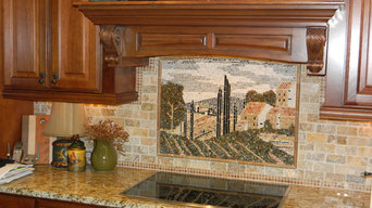 Tuscany Country Tile Mural