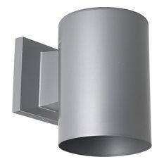 Progress Lighting 5In LED Cylinder 17W, Metallic Gray