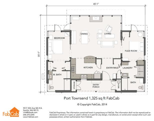 Contemporary Floor Plan Contemporary Floor Plan