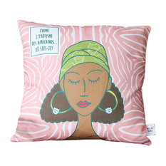 L'Africaine Cotton Cushion Cover