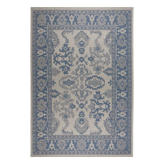 "Patio Country Gray/Blue 7'9""x10'2"" Area Rug"