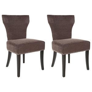 Safavieh Karolyn Dining Chairs, Set of 2, Bark