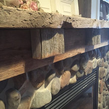 Reclaimed Fireplace Project