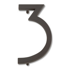Contemporary House Numbers Houzz
