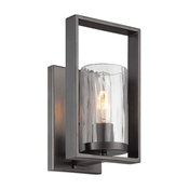 Designers Fountain 86501-CHA Elements Wall Sconce, Charcoal Finish
