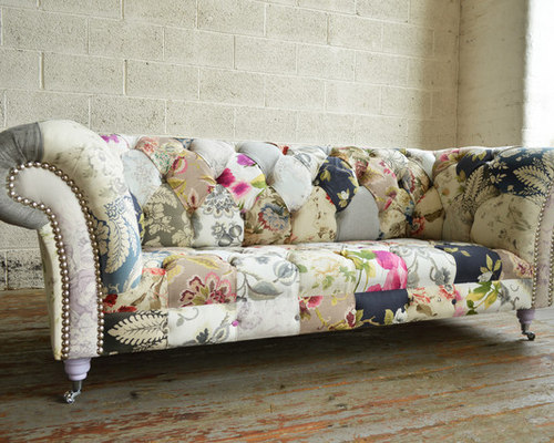 Chesterfield Sofa Patchwork