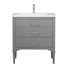 Mason 30-inch Gray Single Sink Vanity