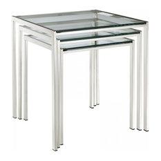Nimble Nesting Table, Silver