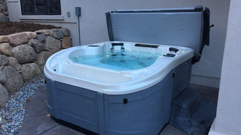 Infinity Edge Hot Tub or Swim Spa