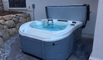 Infinity Edge Hot Tub or Swim Spa