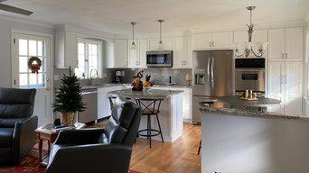 Open Floor Kitchen Remodel, Glastonbury, CT