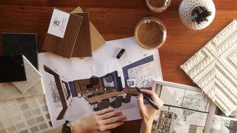 Aménagement intérieur d'une maison individuelle neuve