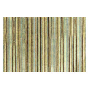 Joseph Blue & Green Rectangular Rug, 90x150 cm