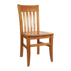 Jacob Side Chair In Cherry (Set Of 2)