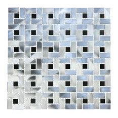 """Legion Furniture 12""""x12"""" Simone Aluminum Tile"""