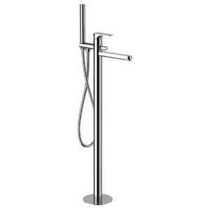 Class Line Chrome Plated Floor-Mounted Bath Mixer