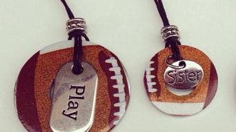 football ncklaces
