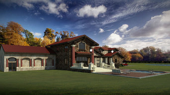Refined Tuscan Timber Home