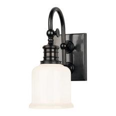 Keswick 1 Light Bathroom Vanity Light in Old Bronze