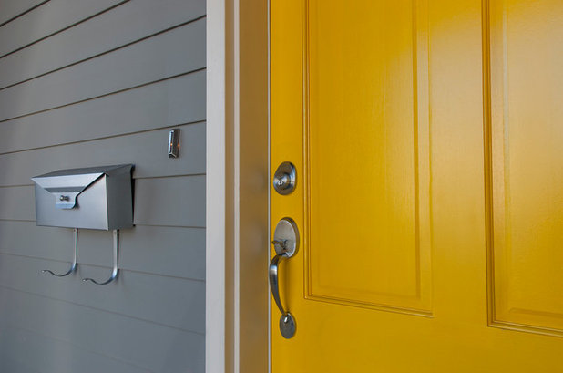 Contemporary Entry by Tundra Windows, Doors & Hardware