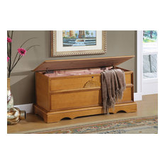 Coaster Cedar Chest, Oak Finish 4695
