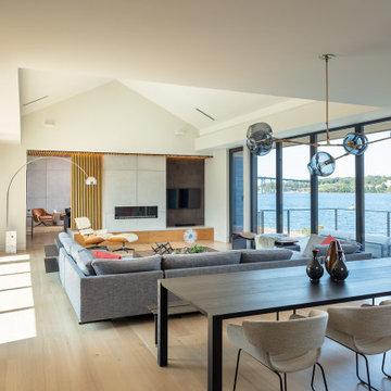Modern Living/Dining Room