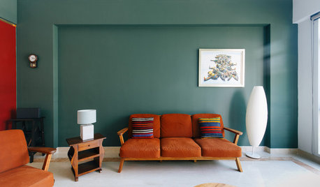Houzz Tour: Colour and Art Define This Family Apartment