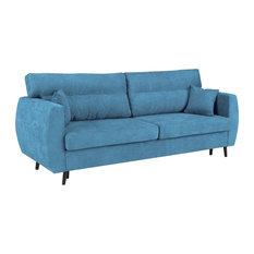 Brisbane Sofa Bed, Blue