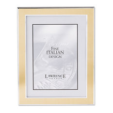 lawrence frames silver and gold 8x10 metal picture frame picture frames