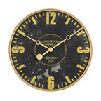 Old Gear Wall Clock Industrial Wall Clocks By