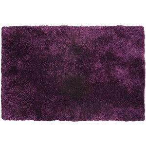 Diva Diva Purple Rectangle Plain/Nearly Plain Rug 60x120cm