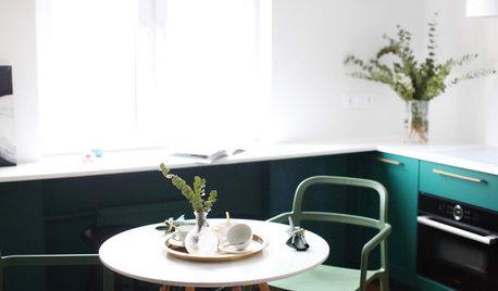 Houzz тур: Минималистичная квартира в духе парижских интерьеров