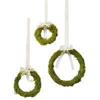 Lemon Cypress Mini Wreaths, 3-Piece Set