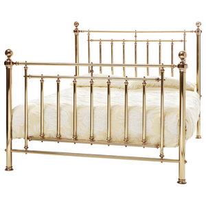 Solomon Brass Bed, UK Super King