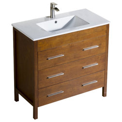 Lovely Contemporary Bathroom Vanities And Sink Consoles by BATHROOM PLACE