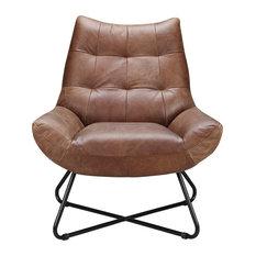 Graduate Lounge Chair, Cappuccino