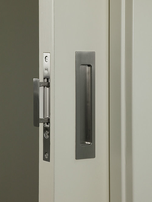 Houzz pocket door hardware design ideas remodel pictures for Pocket door ideas