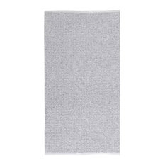 Uni Grey Vinyl Floor Cloth, 70x260 cm
