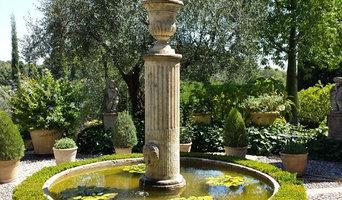 Jardin Opio Fontaine centrale